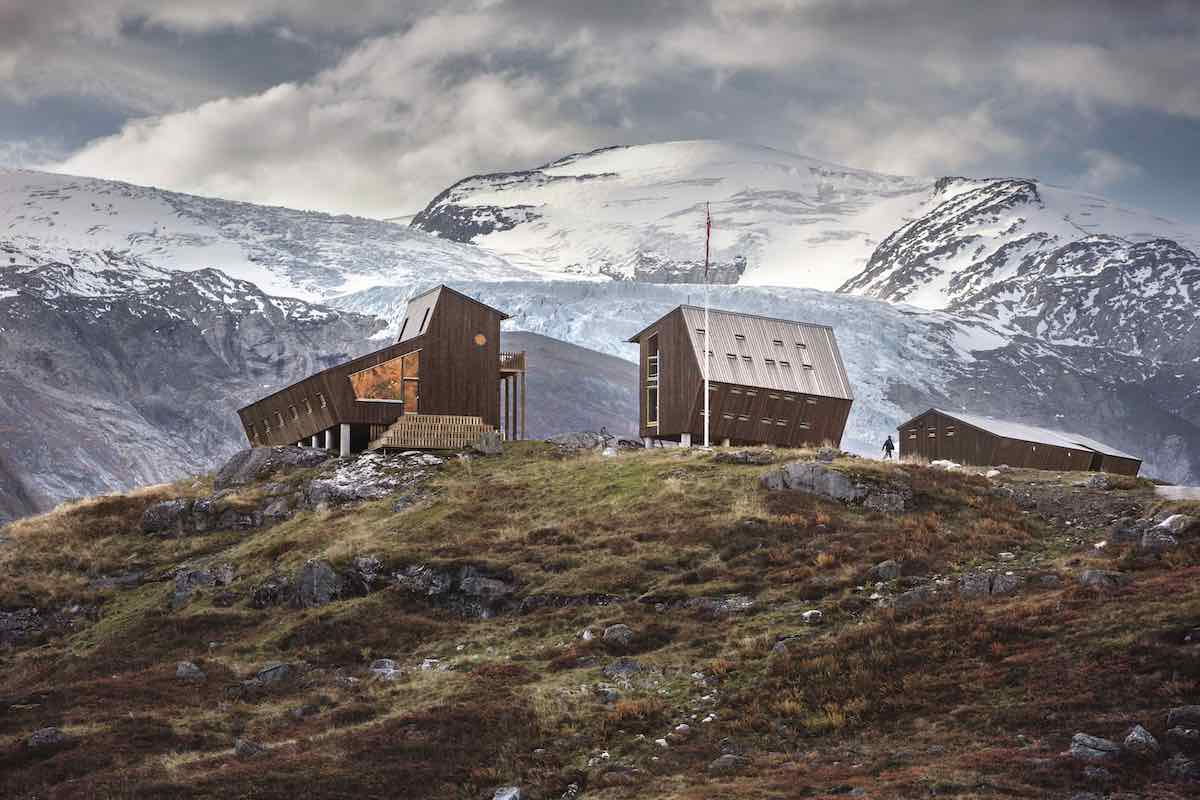 Snøhetta's hiking cabins