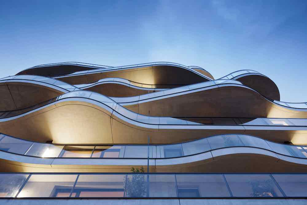'Almost rippling' facades