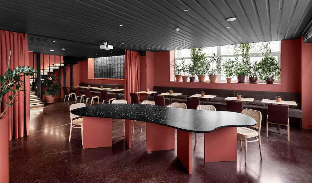 Rose-Mary cafe by Yova Yager hospitality design - Courtesy of Yova Yager hospitality design.