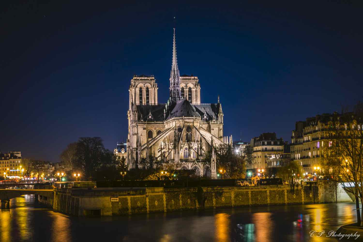 Notre Dame de Paris before collapse - Photo by Carlos Perez.