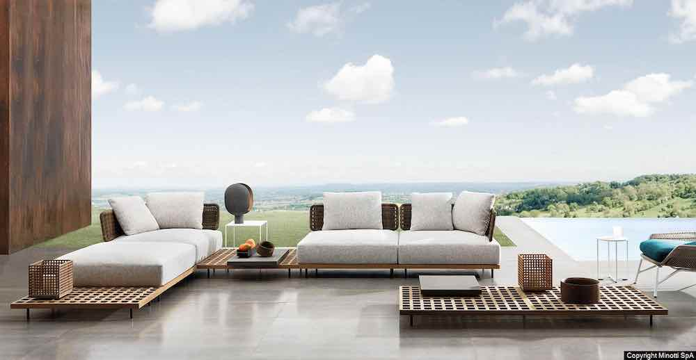 QUADRADO by Marcio Kogan x Minotti - Photo by Minotti.