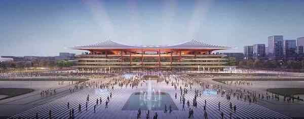 Xi'an Stadium by Zaha Hadid