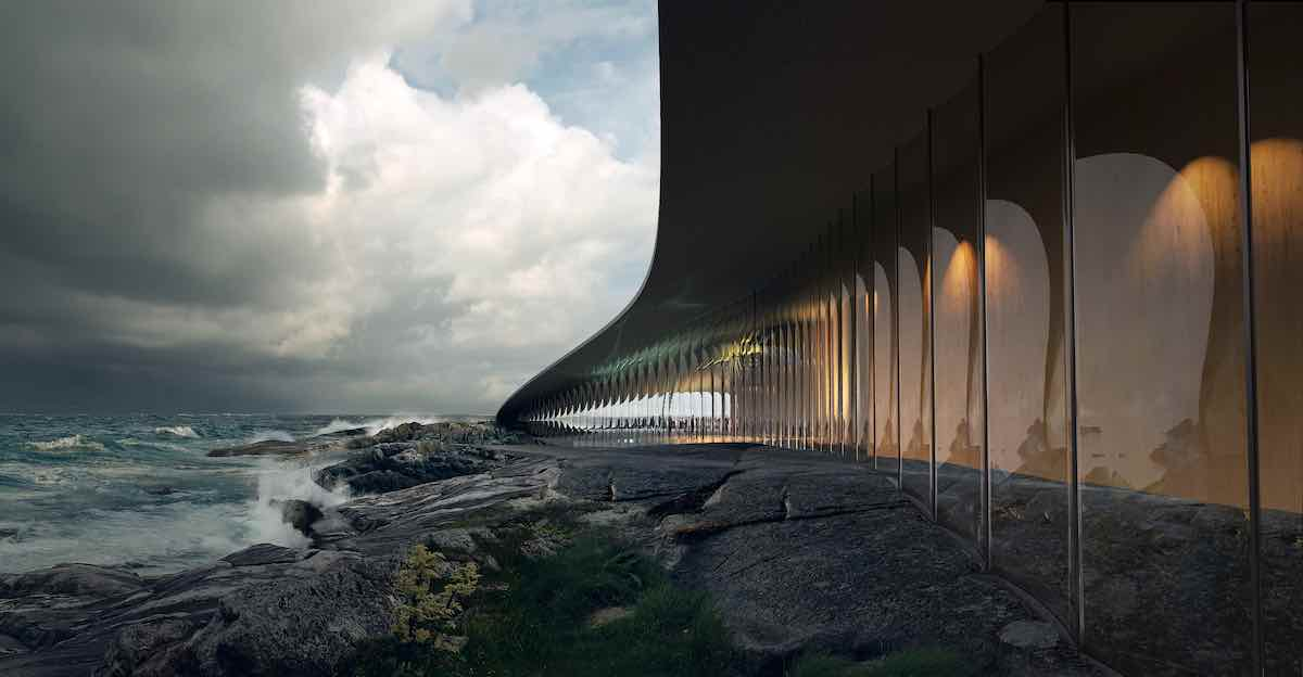 THE WHALE museum by Dorte Mandrup Architects - Image by MIR, courtesy of Dorte Mandrup Architects.