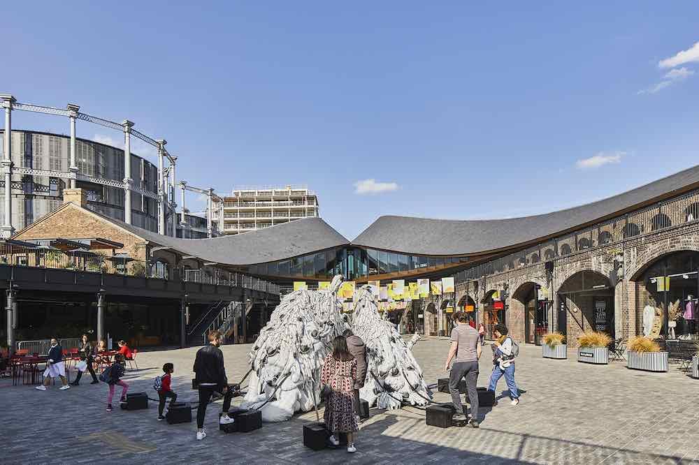 UNITY installation by Marlène Huissoud - Courtesy of London Design Festival.