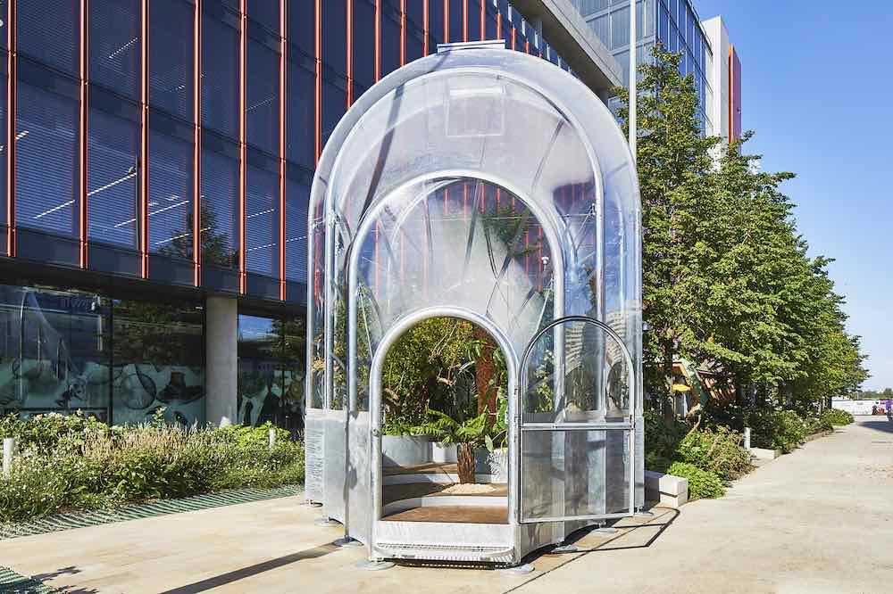 THE HOTHOUSE by Studio Swine @ LDF 2020 - Courtesy of London Design Festival.