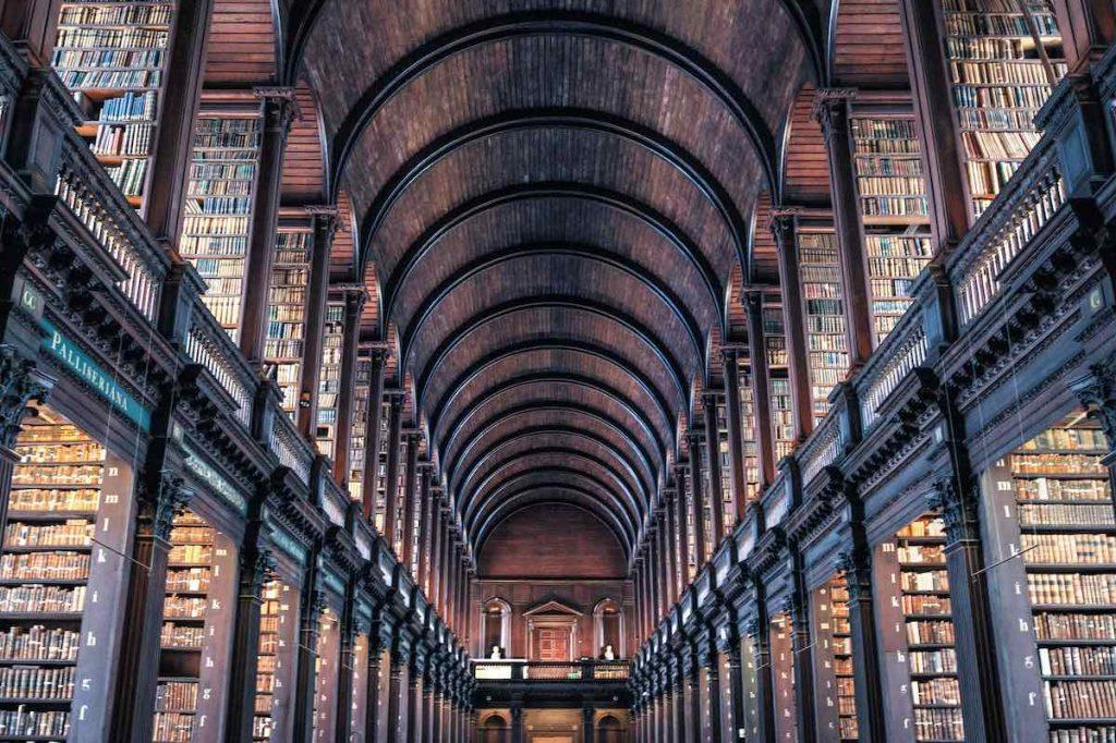 Trinity College Library, Dublin.