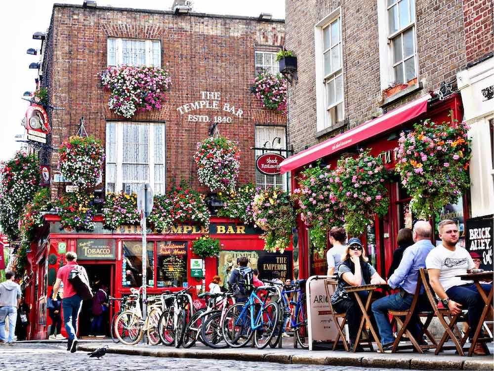 Temple Bar, Dublin - Ph. CC by Jasmin C.