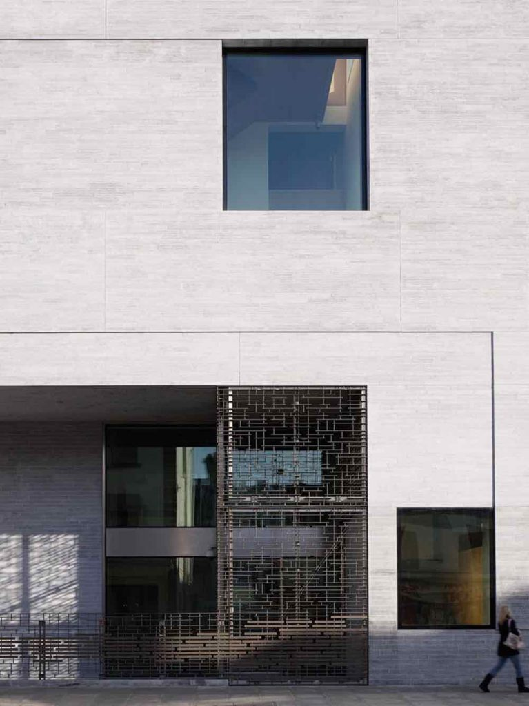 Grafton Architects' Departments of Finance, Dublin - Photograph by Dennis Gilbert.