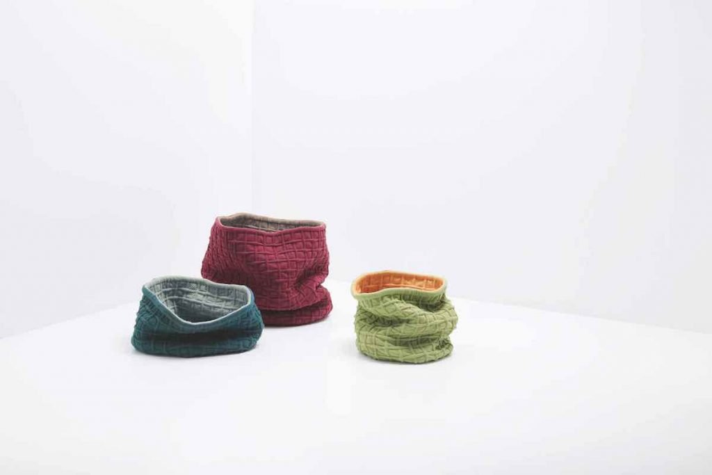 Knit Project: Bumpy Baskets by Shigeki Fujishiro - Photo by Luke Evans.