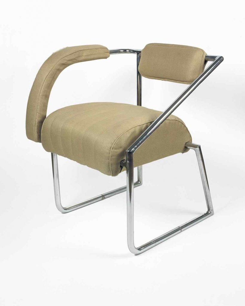 Eileen Gray's Non-conformist chair.
