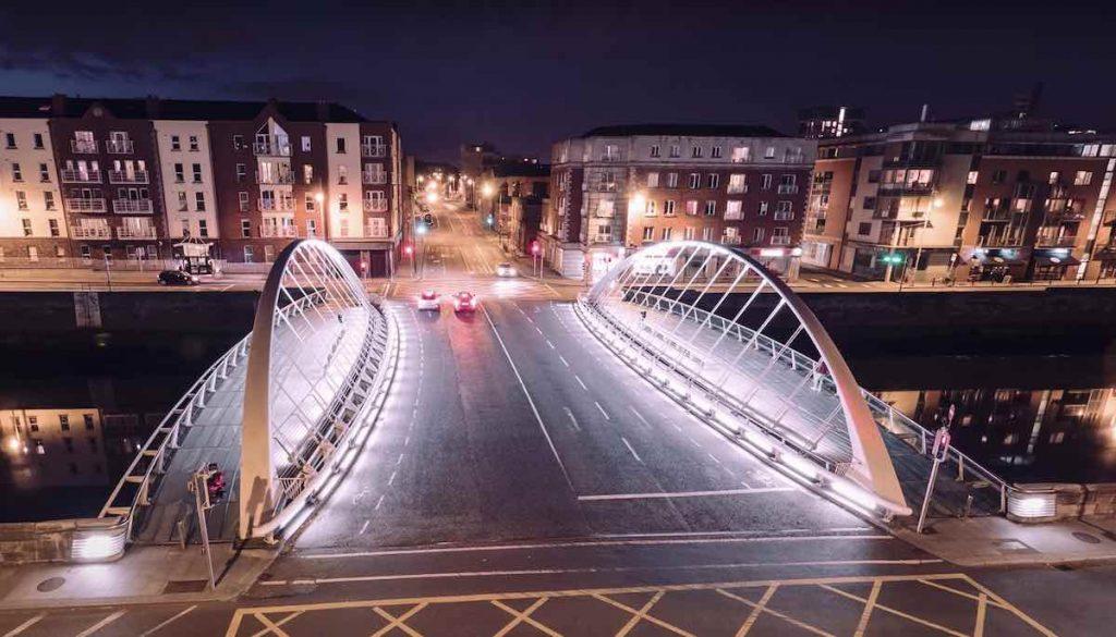 James Joyce Bridge - Frame by YT Aroundtheworlin4k.
