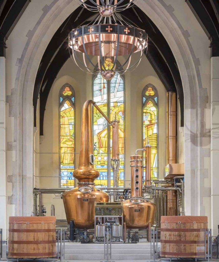 Pearse Lyons Distillery Interior - Photo by the Pearse Lyons Distillery.