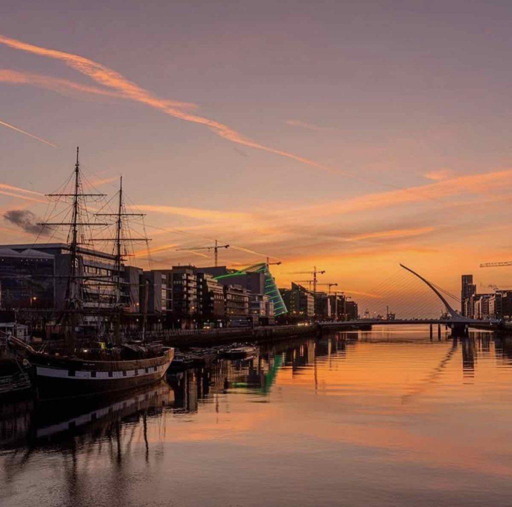Dublin Docklands - Photo via IG @visitdublin.