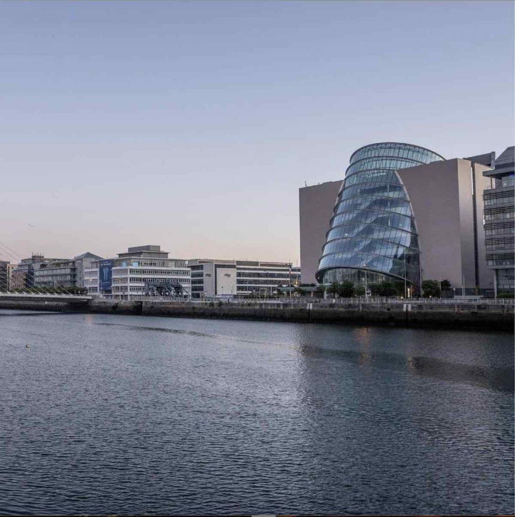 The Convention Centre Dublin - photo by via IG by @rawdublin @the_CCD.