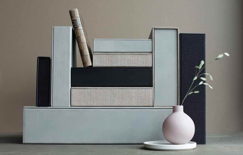 Adam Sandgreen new collection of boxes - Courtesy of 3 Days of Design 2020.