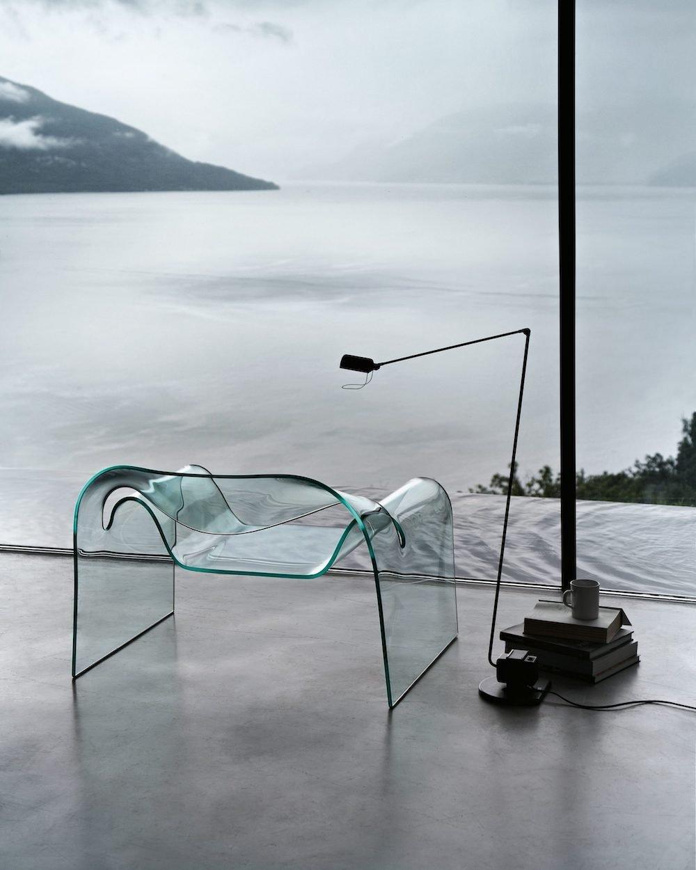 GHOST chair by Cini Boeri for FIAM Italia - Courtesy of Cini Boeri Architetti.