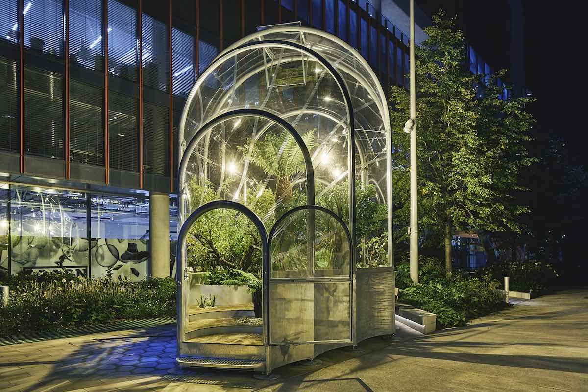 HOTHOUSE by Studio Swine @ London Design Festival 2020 - Courtesy of LDF.