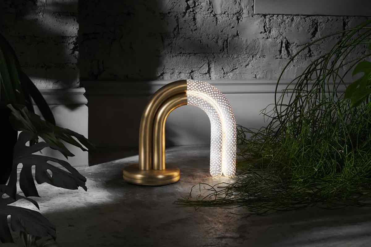 ION desk light by Bohinc Studio - Photo by Philippe Fragniere, courtesy of Bohinc Studio.