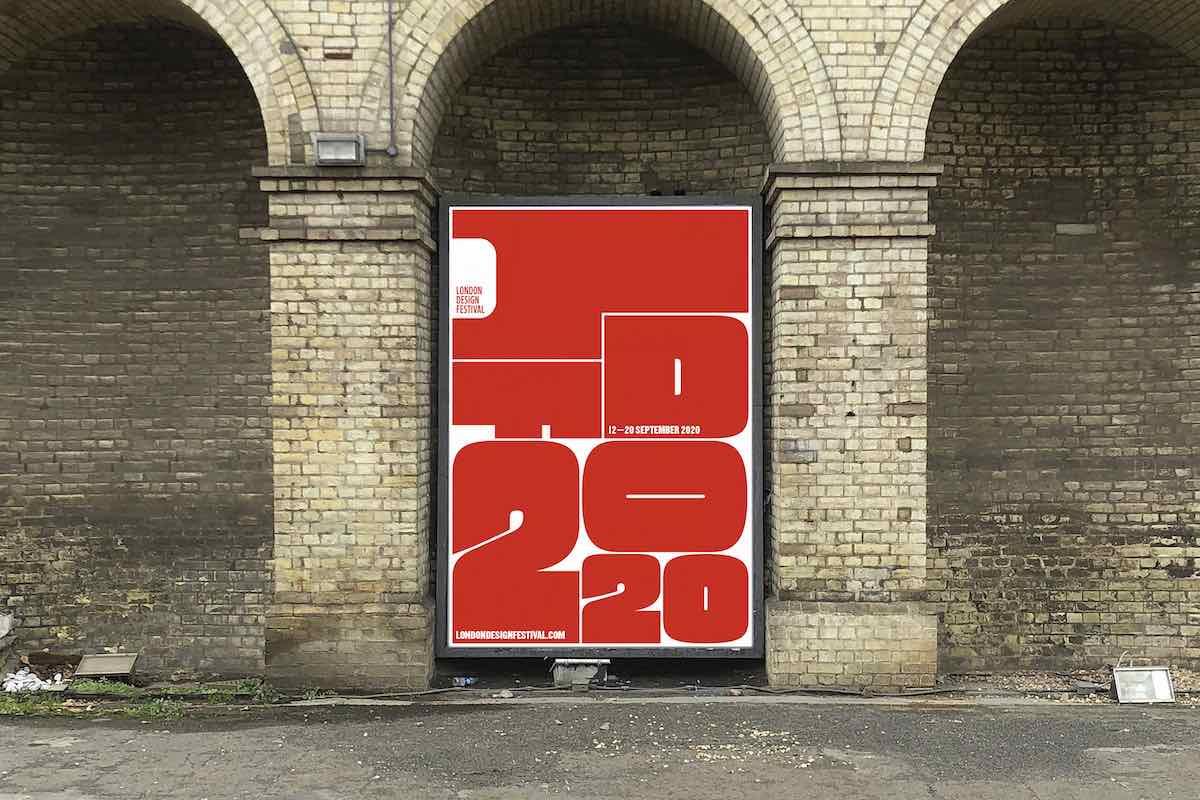 London Design Festival 2020, graphic design by Studio Pentagram - Courtest of LDF.