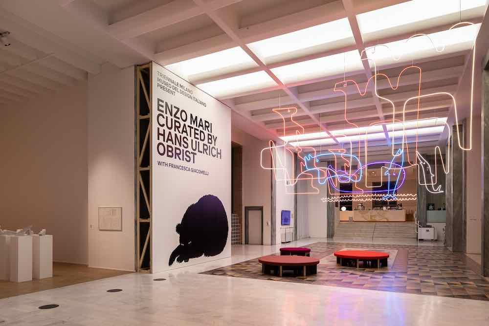 Enzo Mari's exhibition @ Triennale Museum in Milan, 2020.