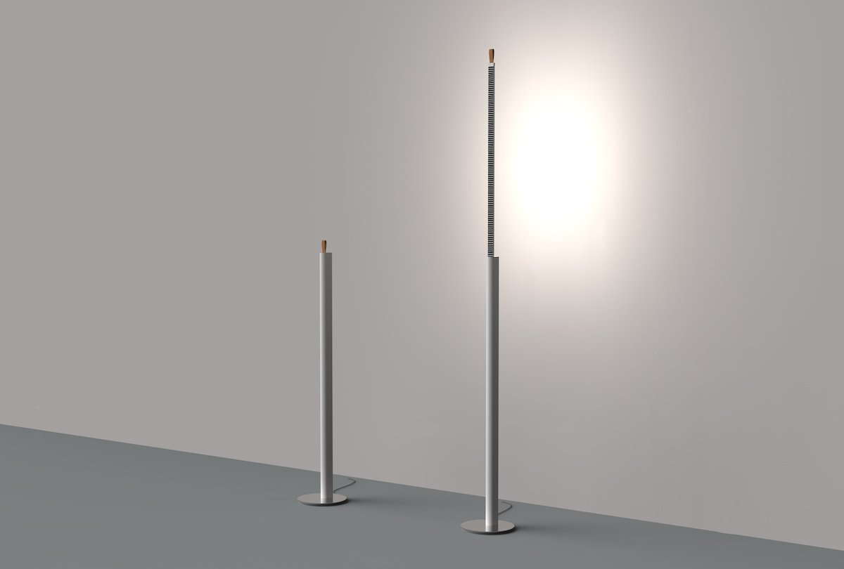 METRICA floor lamp by studio Habits for Martinelli Luce - Courtesy of Martinelli Luce.