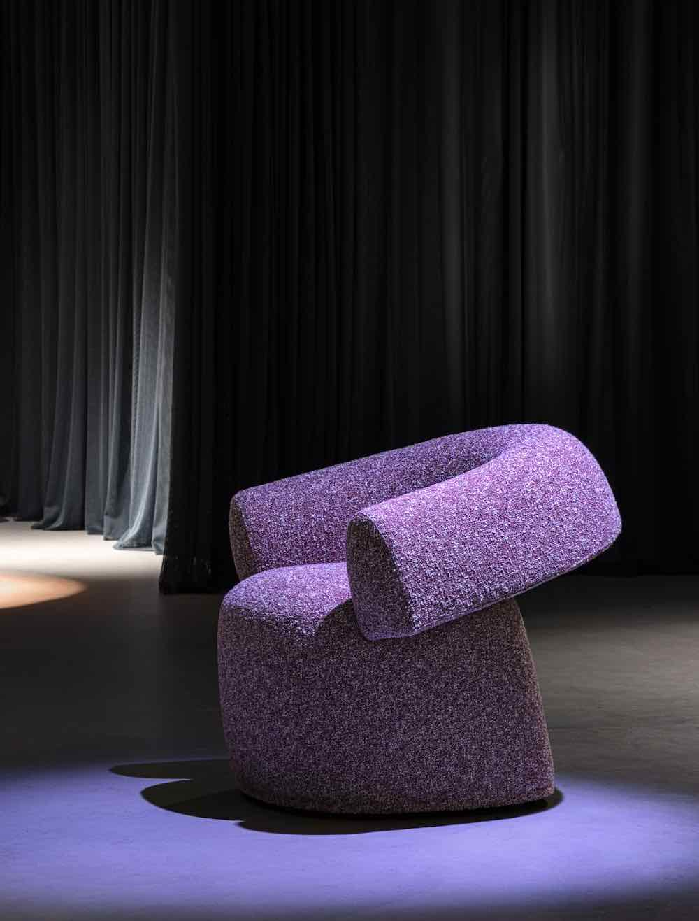 RUFF chair by Patricia Urquiola - Photo by Leonardo Duggento, courtesy of Moroso.