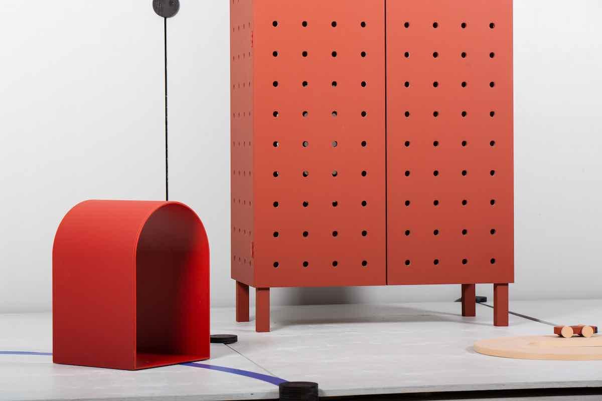 VOLTA stool by Jeron van Veluw - Photo by Tim Mijer.