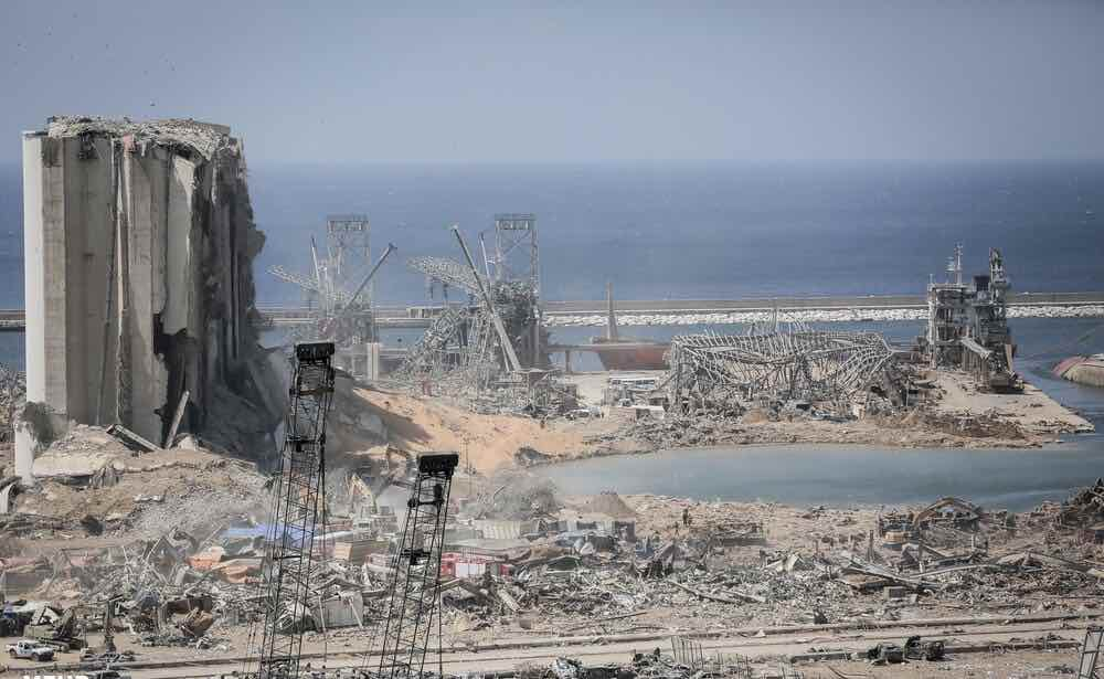 Beirut explosion 2020