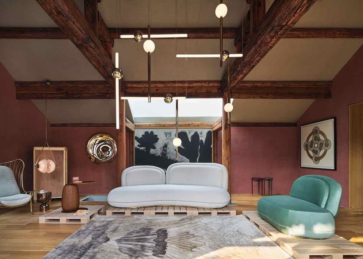 House of Wang's 2020 furniture collection - Courtesy of Design Shanghai 2020.