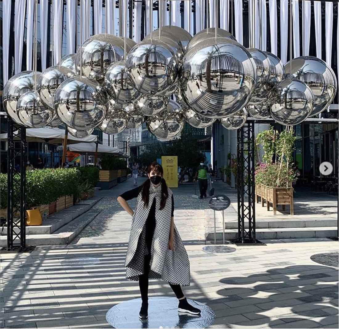 NEBULA installation by Vibhor Sogani, Studio Mark and Wilson Architects - Photo via IG BY @rawnyarchitects.