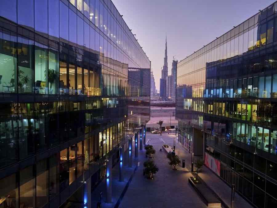 View of d3 - Courtesy of Dubai Design Week.