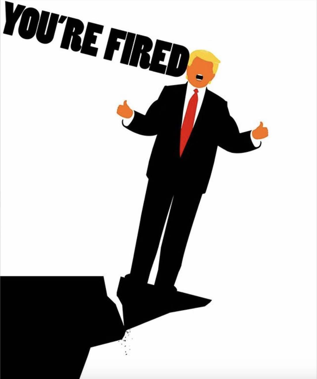 YOU ARE FIRED by Edel Rodriguez