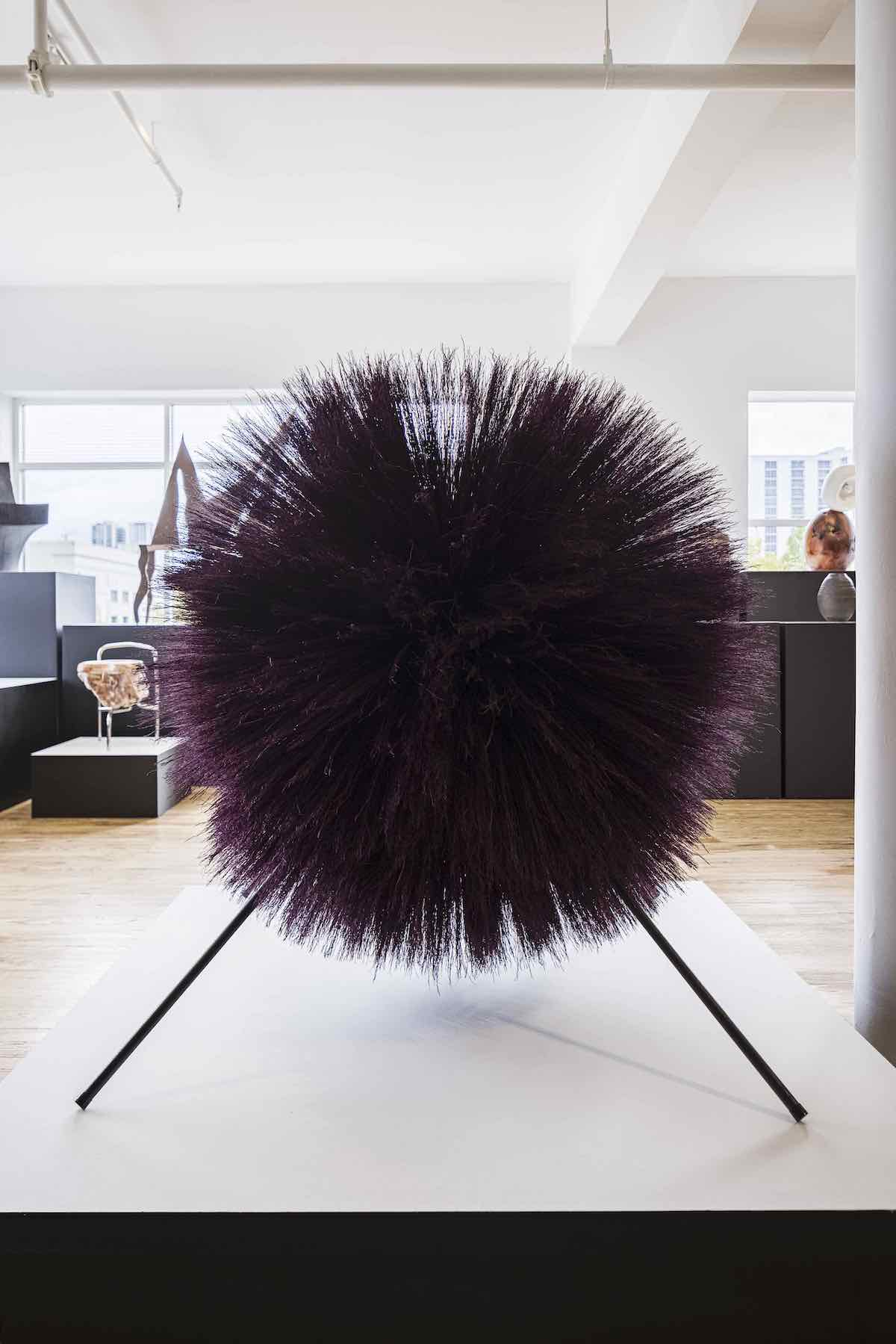 DesignMiami 2020 - Broom Thing by Stephen Burks - Photo by Kris Tamburello.