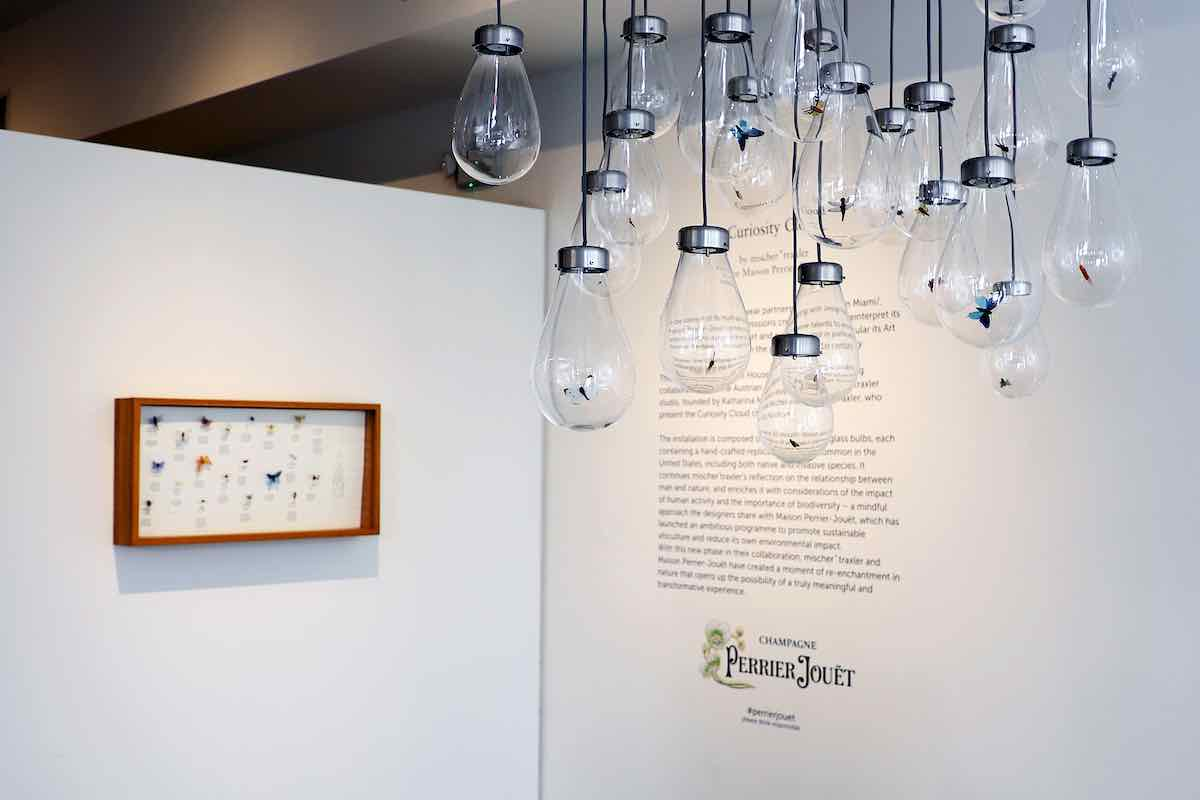 "Perrier Jouët presents ""Curiosity Cloud"" By Mischer'traxler at Design Miami/ 2020 - All photos by Getty."