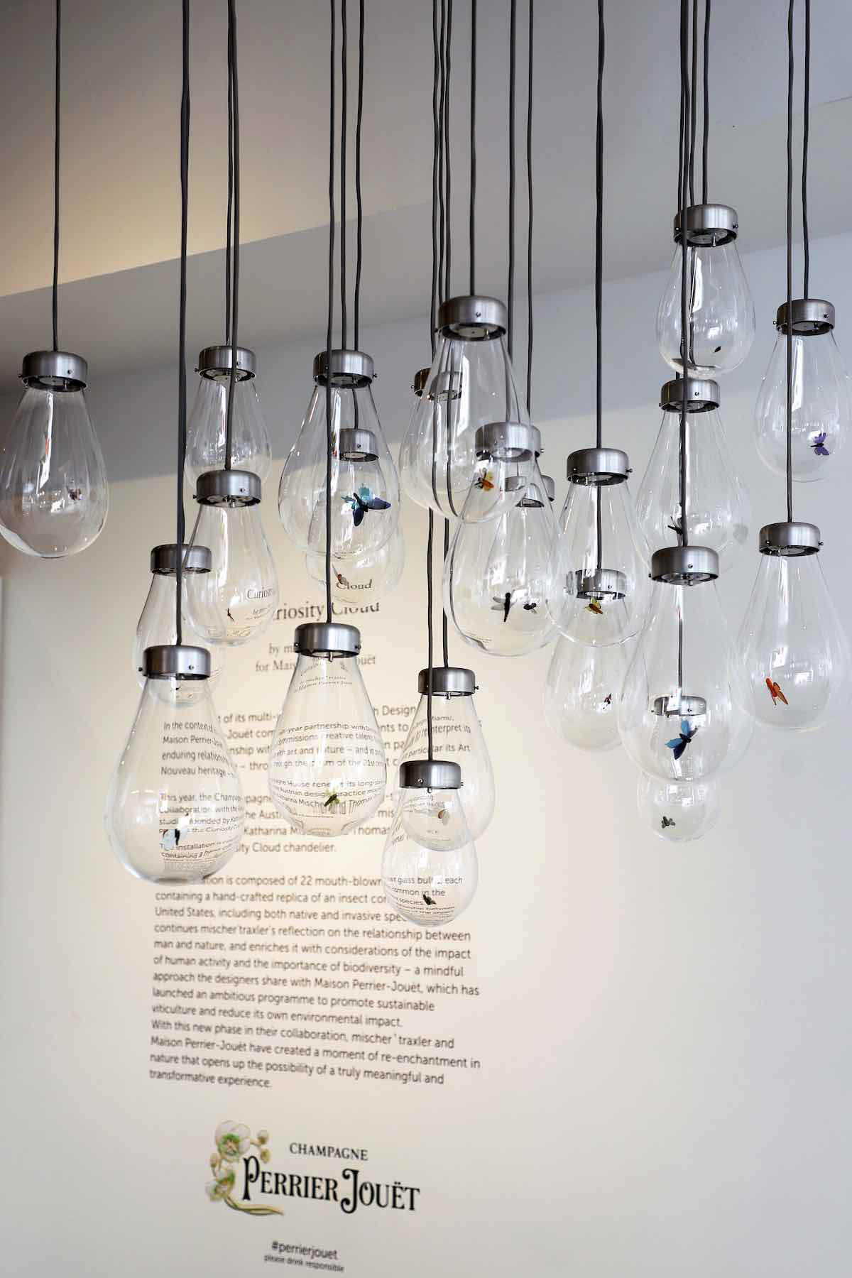 """Perrier Jouët presents """"Curiosity Cloud"""" By Mischer'traxler at Design Miami/ 2020 - All photos by Getty."""