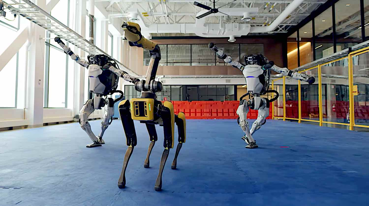 Happy 2021! Image by Boston Dynamics.