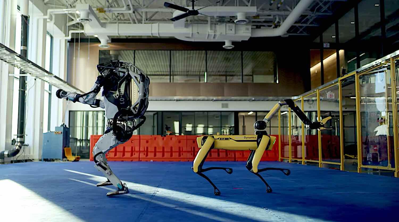 Happy 2021! Image by Boston Dynamics.