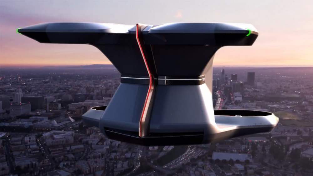 Cadillac drone taxi - Courtesy of General Motors.