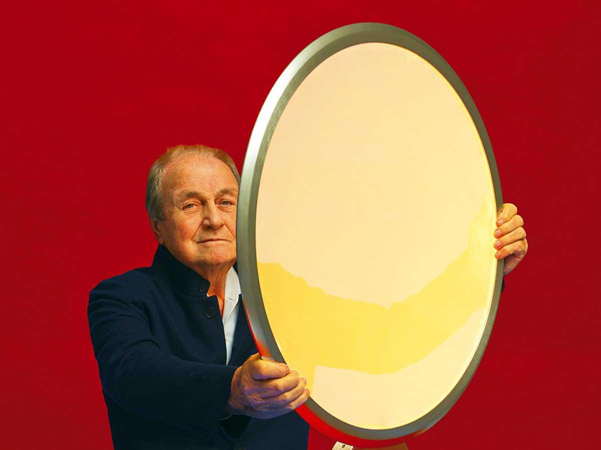 Ernesto Gismondi - Portrait by Pierpaolo Ferrari.