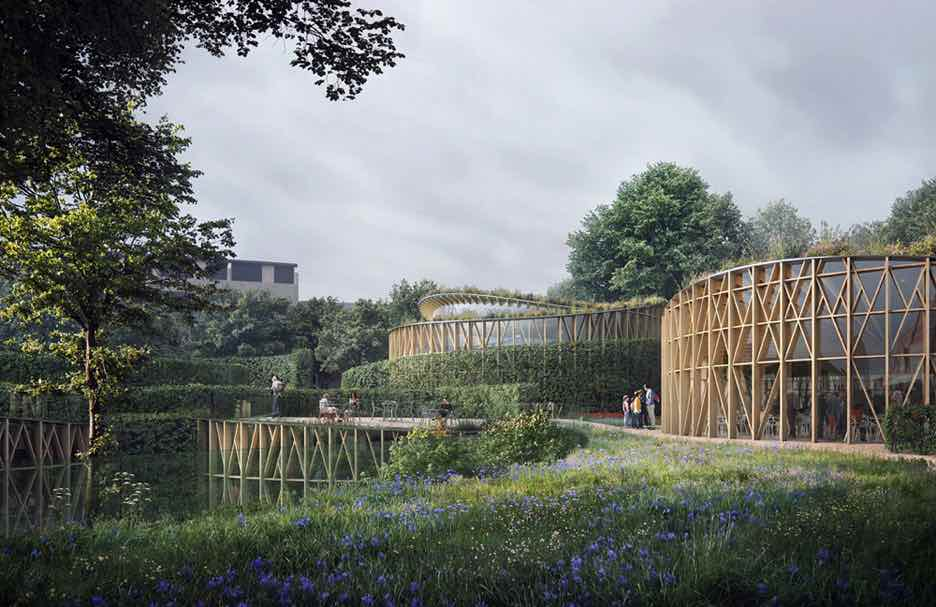 Hans Christian Andersen Museum by Kengo Kuma - Courtesy of Kengo Kuma