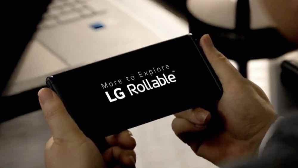 LG Rollable Smartphone - Photo by LG Electronics.
