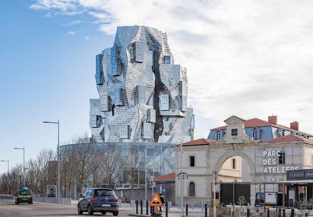 Luma Arles tower by Frank O Gehry - © Atelier Vincent Hecht.