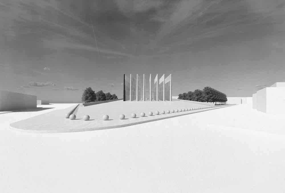 Memorial des Martyrs by Adjaye Associates - image by Adjaye Associates
