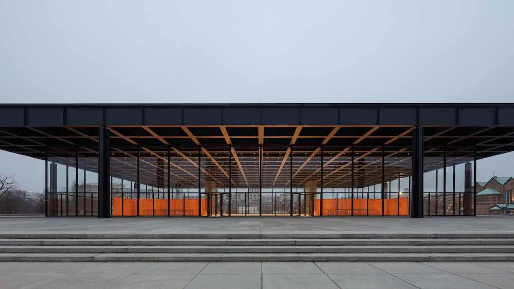 Neue Nationalgalerie by David Chipperfield Architects - Photo by Thomas Bruns, courtesy of BBR.
