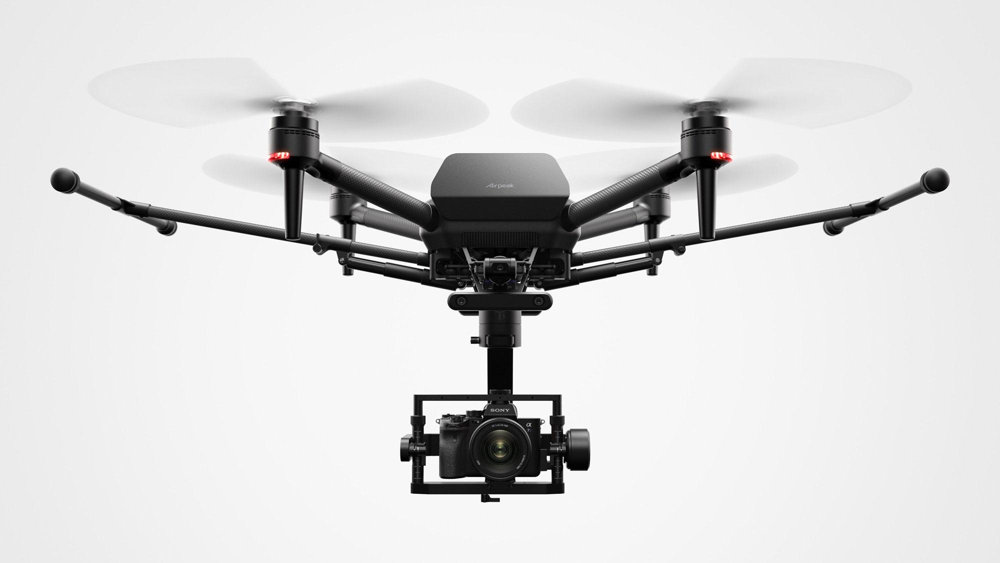 Sony mirrorless drone AirPeak - © Sony.