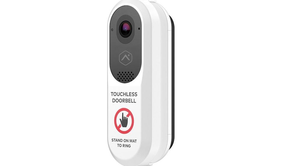 Touchless doorbell - Image by Alarm.com.