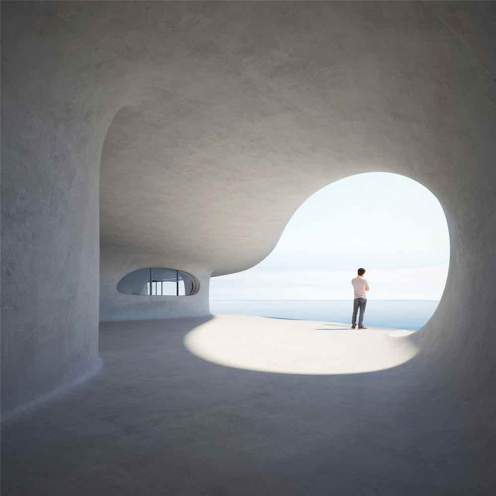Wormhole Library by MAD Architects - Image by MAD Architects.