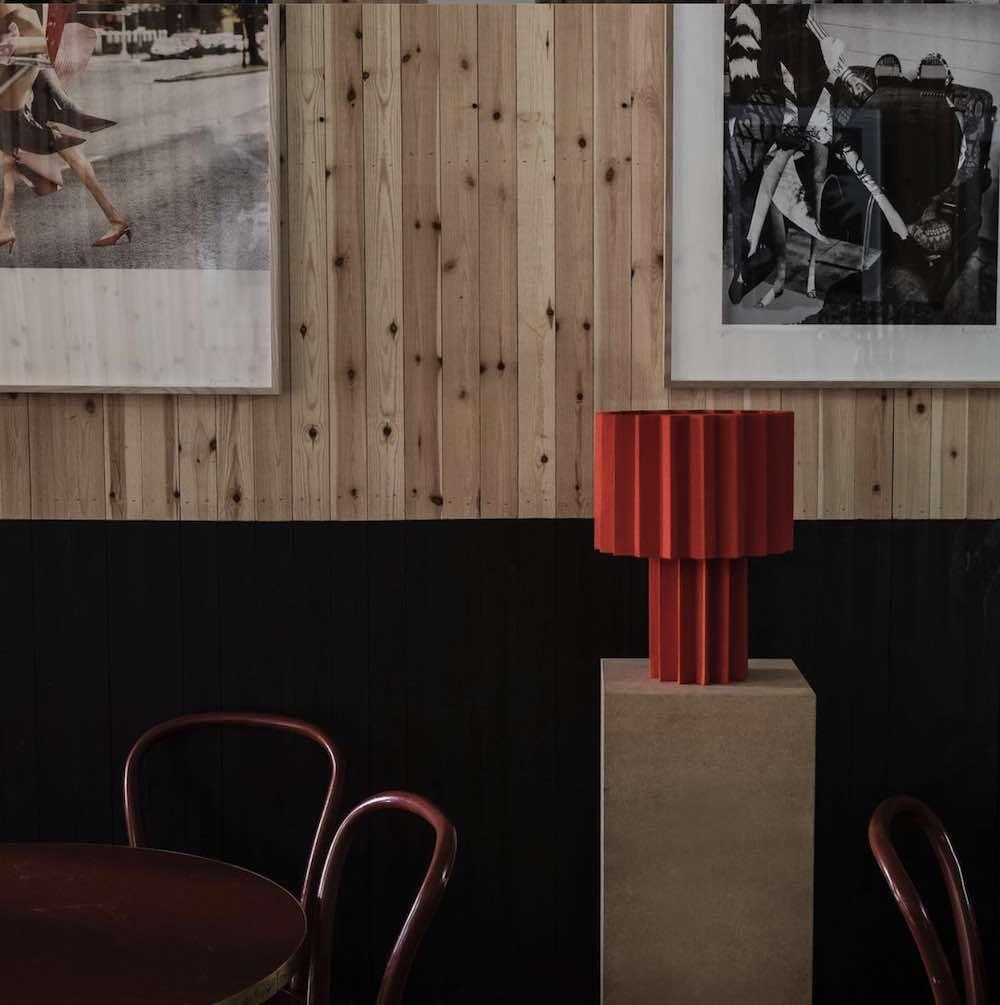 L'Art Plissé by Folkform and Roland Hjort - Photo via IG by @mikekarlssonlundgren for @folkrom_studio.