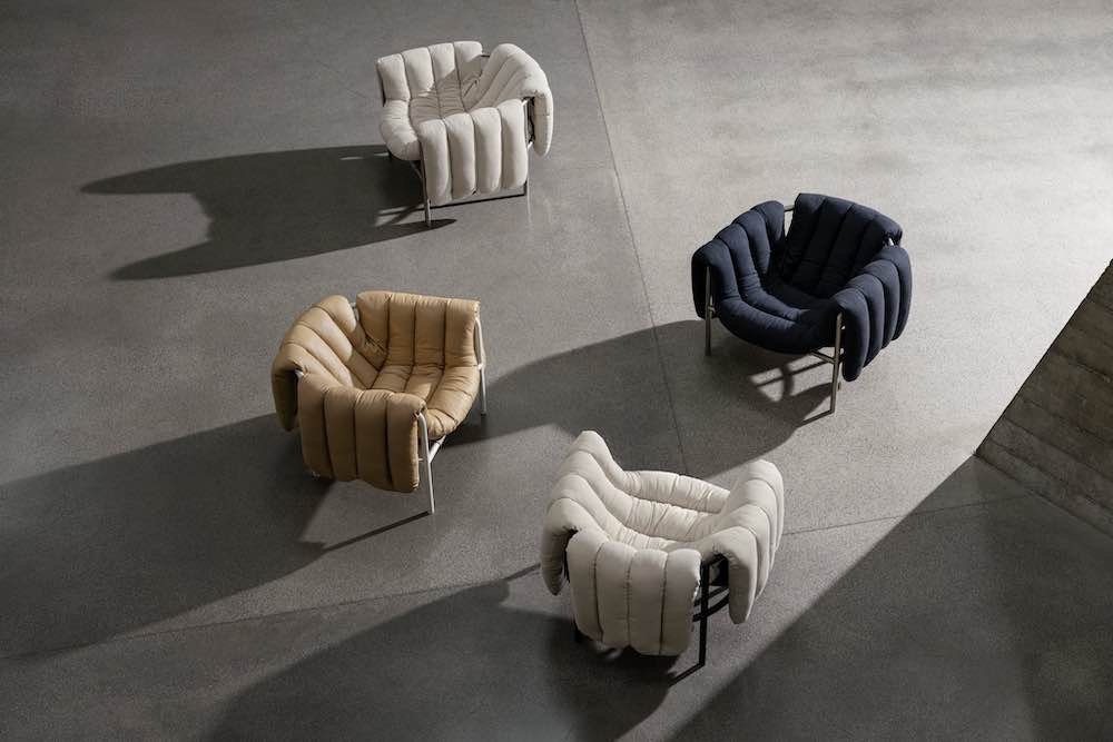 Puffy Lounge Chair by Faye Toogood x Hem - Photo by Erik Lefvander