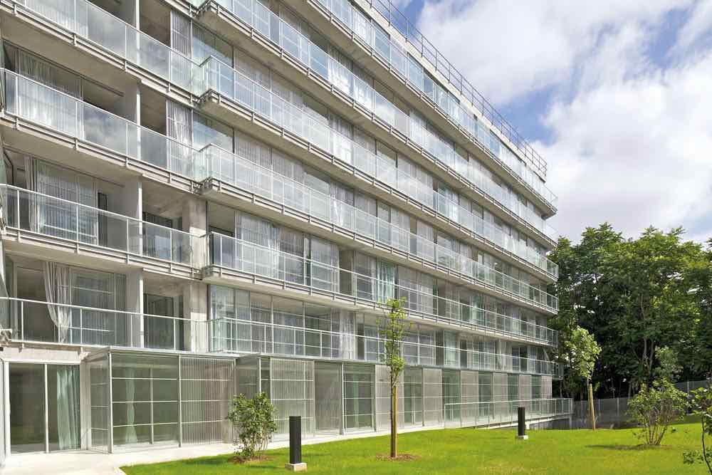 129 Units, Ourcq-Juarès Student and Social Housing, photo courtesy of Philippe Ruault